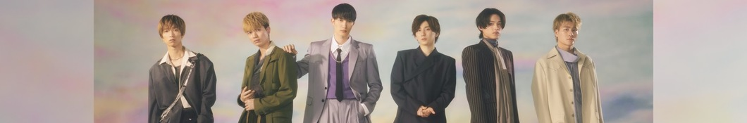 Large banner image of SixTONES linking to their artist page due to link from them being at the top of the main table on this page
