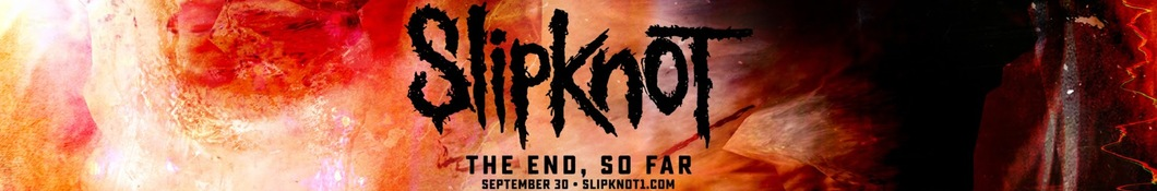 Large banner image of Slipknot linking to their artist page, present due to the event they are headlining being at the top of this page