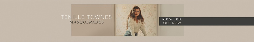 Large banner image of Tenille Townes headlining the page