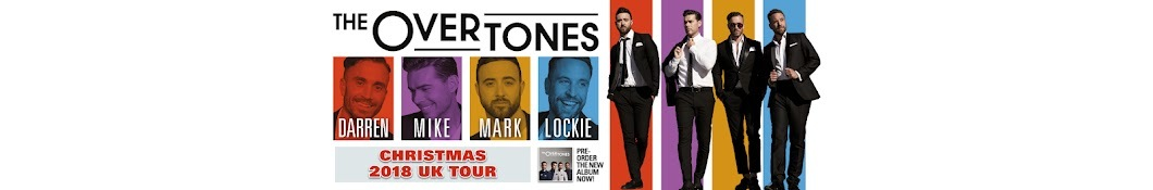 Large banner image of The Overtones linking to their artist page due to them being the most commonly displayed artist on this title page