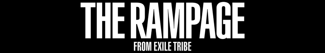 Large banner image of THE RAMPAGE from EXILE TRIBE linking to their artist page due to them being the most commonly displayed artist on this title page