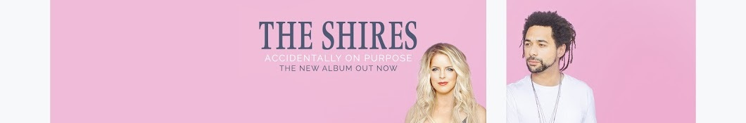 Large banner image of The Shires headlining the page