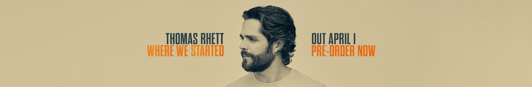Large banner image of Thomas Rhett linking to their artist page