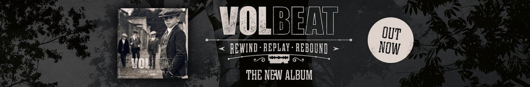 Large banner image of Volbeat linking to their artist page due to them being the most commonly displayed artist on this title page