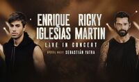 Thumbnail image for the event Enrique Iglesias & Ricky Martin 2021 supplied by the hosting site