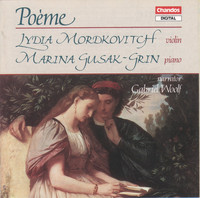Thumbnail for the Sergei Rachmaninoff - 14 Songs, Op. 34: No. 14. Vocalise in E Minor (arr. L. Rose for violin and piano) link, provided by host site