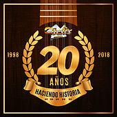 Thumbnail for the Los Cuates de Sinaloa - 20 Años Haciendo Historia link, provided by host site