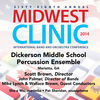 Thumbnail for the Dickerson Middle School Percussion Ensemble - 2014 Midwest Clinic: Dickerson Middle School Percussion Ensemble link, provided by host site