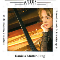 Thumbnail for the Dmitri Shostakovich - 24 Präludien, op. 34: VII. Andante A-Dur link, provided by host site