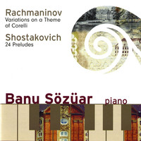 Thumbnail for the Dmitri Shostakovich - 24 Preludes, Op. 34: No. 7 in A Major link, provided by host site