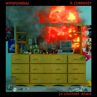 Thumbnail for the Wifisfuneral - 25 Lighters (Remix) link, provided by host site