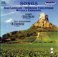 Thumbnail for the Jean Langlais - 5 Melodies, Op. 86: No. 1. A Francine link, provided by host site