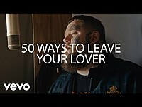 Thumbnail for the Rag'n'Bone Man - 50 Ways to Leave Your Lover (Live from Larch Studios) link, provided by host site
