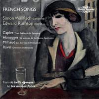 Thumbnail for the Arthur Honegger - 6 Poèmes extraits de Alcools de G. Apollinaire: VI. Les Cloches link, provided by host site