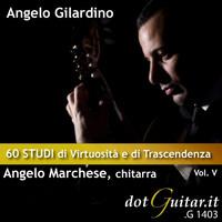 Thumbnail for the Angelo Gilardino - 60 Studi di Virtuosita' e di Trascendenza Vol.v link, provided by host site