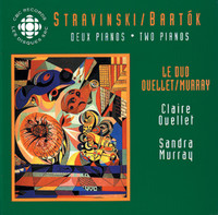 Thumbnail for the Béla Bartók - A csodalatos mandarin (The Miraculous Mandarin), Op. 19, BB 82, (version for 2 pianos): XI. Pio mosso link, provided by host site
