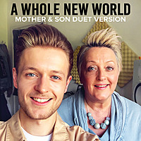 Thumbnail for the Katherine Hallam - A Whole New World (Mother & Son Duet Version) link, provided by host site