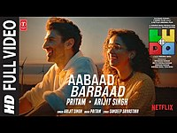 Thumbnail for the Ludo - Aabaad Barbaad (Full VIdeo) Abhishek B, Aditya K, Rajkummar R, Sanya, Fatima | Arijit, Pritam link, provided by host site