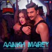 """Thumbnail for the Neha Kakkar - Aankh Marey (From """"Simmba"""") link, provided by host site"""