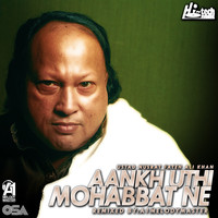 Thumbnail for the Nusrat Fateh Ali Khan - Aankh Uthi Mohabbat Ne link, provided by host site