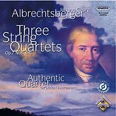 Thumbnail for the Authentic Quartet - Albrechtsberger: String Quartets Nos. 4, 5 and 6 link, provided by host site