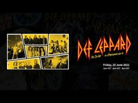 Thumbnail for the Def Leppard - All I've Got Is A Photograph LIVE - June 25 2021 Livestream link, provided by host site