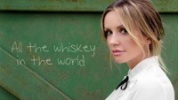 Thumbnail for the Carly Pearce - All The Whiskey In The World (Lyric Video) link, provided by host site