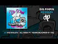 Thumbnail for the Wiz Khalifa - All Week link, provided by host site