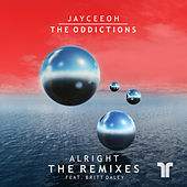 Thumbnail for the The Oddictions - Alright (Remixes) link, provided by host site