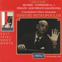 Thumbnail for the Richard Strauss - Also sprach Zarathustra, Op. 30, TrV 176: III. Von der grossen Sehnsucht link, provided by host site