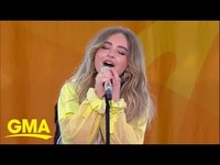 And sabrina carpenter give a special live performance of on my way full performance thumb