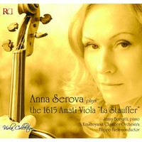 Thumbnail for the Anna Serova - Anna Serova Plays the 1615 Amati Viola 'La Stauffer' (Viola Collection) link, provided by host site