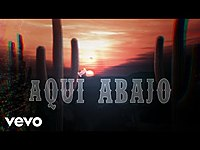 Thumbnail for the Christian Nodal - Aquí Abajo (LETRA) link, provided by host site