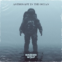 Thumbnail for the Masked Wolf - Astronaut In The Ocean link, provided by host site