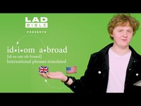 Thumbnail for the Lewis Capaldi - Attempts to translate American slang   Idiom Abroad link, provided by host site