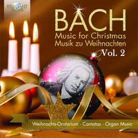 Thumbnail for the Johann Sebastian Bach - Bach for Christmas/Bach zu Weihnachten, Vol. 2 link, provided by host site