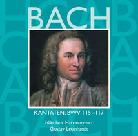 Thumbnail for the Collegium Vocale - Bach, JS: Sacred Cantatas, BWV Nos. 115 - 117 link, provided by host site