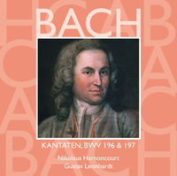 Thumbnail for the Collegium Vocale - Bach, JS: Sacred Cantatas, BWV Nos. 196 & 197 link, provided by host site