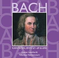 Thumbnail for the Collegium Vocale - Bach, JS: Sacred Cantatas, BWV Nos 67 - 69a link, provided by host site