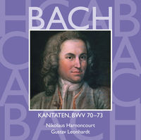 Thumbnail for the Collegium Vocale - Bach, JS: Sacred Cantatas, BWV Nos 70 - 73 link, provided by host site