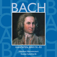 Thumbnail for the Collegium Vocale - Bach, JS: Sacred Cantatas, BWV Nos. 91 - 93 link, provided by host site