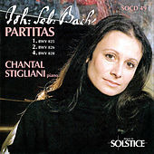 Thumbnail for the Chantal Stigliani - Bach: Partitas, Vol. 1 link, provided by host site