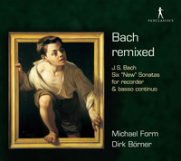 Thumbnail for the Johann Sebastian Bach - Bach Remixed link, provided by host site