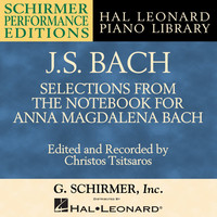 Thumbnail for the Christos Tsitsaros - Bach: Selections from The Notebook for Anna Magdalena Bach link, provided by host site