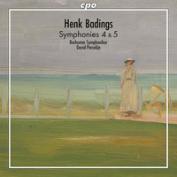 Thumbnail for the Henk Badings - Badings: Symphonies Nos. 4 & 5 link, provided by host site