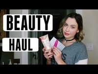 Thumbnail for the Natasha Bure - BEAUTY HAUL link, provided by host site