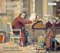 Thumbnail for the Ludwig van Beethoven - Beethoven: Cello Sonatas, Op. 5 link, provided by host site