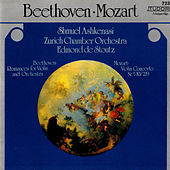 Thumbnail for the Shmuel Ashkenasi - Beethoven & Mozart: Works for Violin & Orchestra link, provided by host site