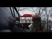 Thumbnail for the Lewis Capaldi - Before You Go link, provided by host site