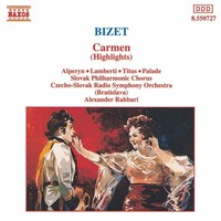 Thumbnail for the Henri Meilhac - Bizet: Carmen (Highlights) link, provided by host site